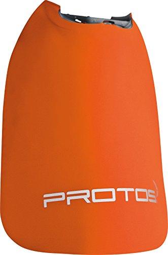 Nackenschutz protos integral orange, leichte ausführung
