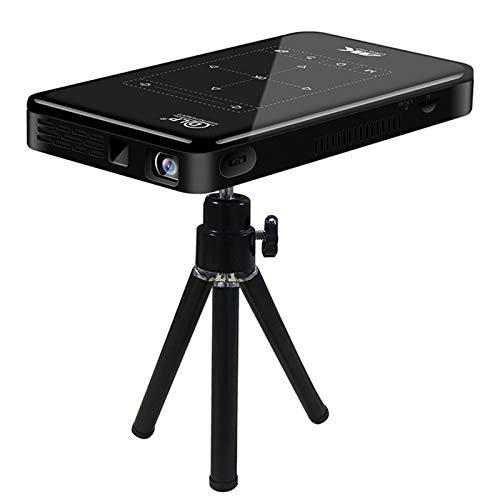 AWJK Proyector WiFi, Proyector Portátil, 6000 Lúmenes, Soporta 1080p Full HD, Cine en Casa 300' Duplicar Pantalla para Android/iPhone Smartphone iPad,HDMI/USB/VGA/AV/SD
