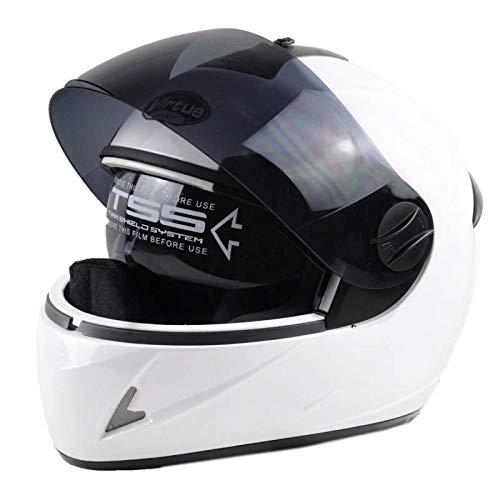 Elektrische motorhelm batterij autohelm volledige helm anti-condens warmhelm rijhelm rijhelm