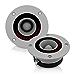 """Pyramid TW18 300 Watt 3.25"""" Super Car Audio Aluminum Tweeters Horn Bullet (Renewed)"""
