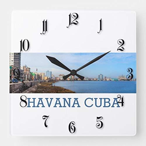Sp567encer Havana Stadtplatz Wanduhr