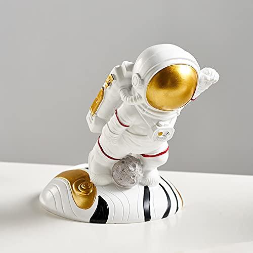 ZNOUSH Astronaut - Soporte para botellas de vino, diseño moderno