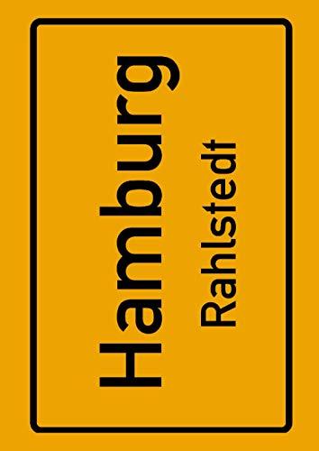 Hamburg Rahlstedt: Deine Stadt, deine Region, deine Heimat! | Notizbuch DIN A4 kariert 120 Seiten Geschenk
