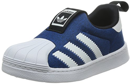 adidas Unisex Kinder Superstar 360 Sneaker, Blau (Bluebird/FTWR White/Core Black), 24 EU