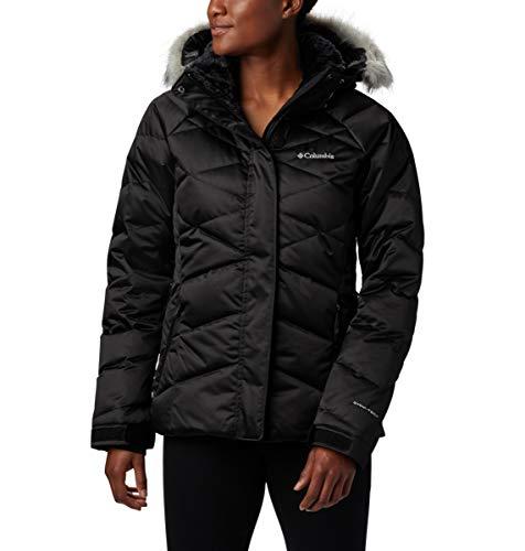 Columbia Lay D Down II Chaqueta de esquí Mujer, Negro, M