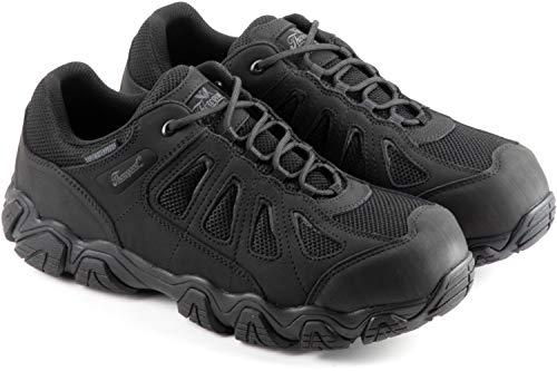Thorogood 834-6293 Men's Crosstrex Series - BBP Waterproof, Oxford Hiker, Black - 11.5 W US