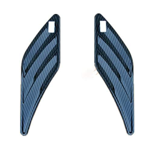 Nero Opaco XiYon Cromo Argento Opaco Lucido Nero Lucido ABT 3D Adesivo Carrozzeria Laterale Adesivo Emblema Adesivi Logo per Audi VW