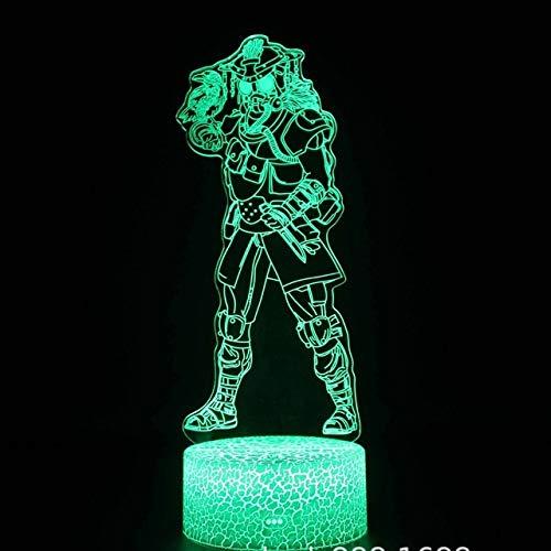Sproud Bloodhound 16 Farbe Mit Fernbedienung Kinder Led Nachtlicht Für Kind Schlafzimmer 3D Vision Illusion Beleuchtung Mit Usb Für Geburtstag Weihnachtsgeschenk