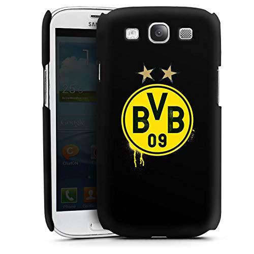 DeinDesign Premium Case kompatibel mit Samsung Galaxy S3 Neo Smartphone Handyhülle Hülle matt Sterne Borussia Dortmund BVB