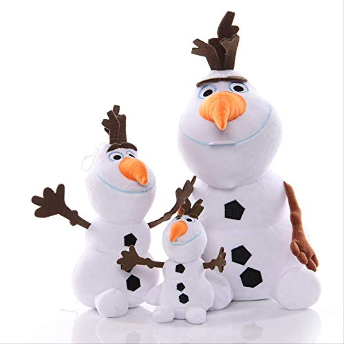 Yzhome 3 Unids 20 Cm / 30 Cm / 50 Cm Muñeco De Nieve Olaf Peluches Peluches Adventure Doll Frozen Olaf Olaf Muñeco De Nieve Muñeca Regalos De Cumpleaños para Niños