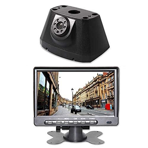 Tercer freno de protección trasera para cámara y monitor LCD de 7 pulgadas para Dodge Ram Promaster 1500 2500 3500 2014 2015 ...