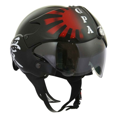 Helm Aircraft xs kamikaze noir metal
