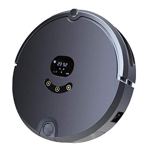 LTLJX W automático Aspirador Inteligente del Robot Inteligente Piso Barrido de Limpieza Mopping Limpiador de la máquina con Control Remoto, for el Pelo de Mascotas, alfombras for Pisos Duros LUDEQUAN