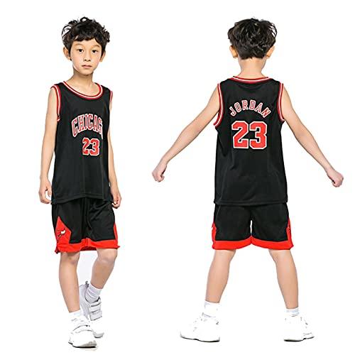 ZHMIAO Camisetade Baloncesto de los niños Jordan 23#, Deporte Sets Shorts Quick...