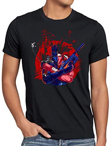 A.N.T. Castle Hunter T-Shirt da Uomo Solid Snake Belmont Simon, Dimensione:L