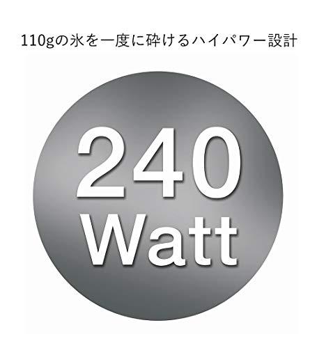 ブラウンブレンダーパワーブレンドコンパクト3ホワイト600mlJM3018