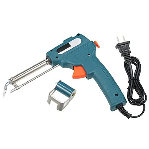 LeuMuas Soldador automático de alimentación fácil Uso se desgasta fácilmente y aparatos de soldar Temperatura Ajustable eléctrico 60W rápida de calefacción portátil