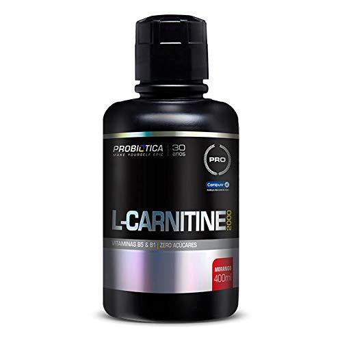 L-carnitine 2000 400ml Probiotica Morango