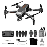 Greatangle-UK L109 PRO GPS Drone WiFi FPV 4K Camera 2.4Ghz 4CH Brushless RC Quadcopter con 2 Assi...