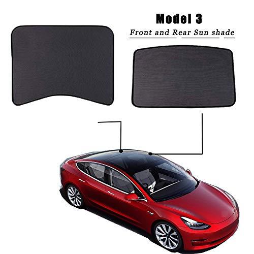 BMZX Model 3 Sonnenschutz Autofenster Schiebedach Schatten Faltbarer Sonnenschutz