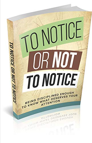 To Notice or Not to Notice (English Edition)
