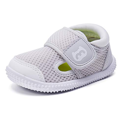 BMCiTYBM Baby Sneakers Girls Boys Mesh First Walkers Shoes 6 9 12 18 24 Months Gear Size 12-18 Months Infant