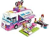 Outing Building Blocks City Girls Montaje Juguetes Mini Muñecas Casa Juego de juegos Modelo Modelo de juguete educativo para niños Chicas, pelucas y accesorios para el cabello, Playets de vacaciones d