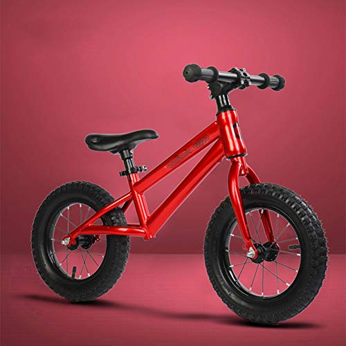 Fantastic Deal! XJJWP Balance Bike with Air Tires Handlebar Steering Limit No Pedal 2 Wheeled Scoote...