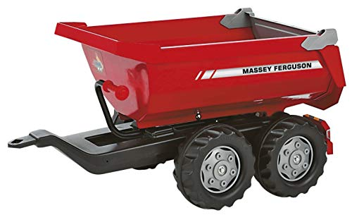 Affordable Massey Ferguson Twin-Axle Tipping trailer