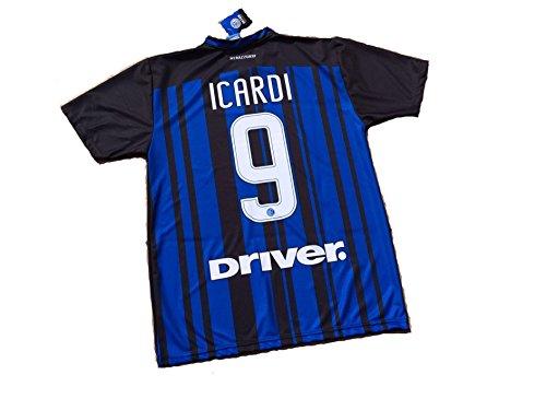 F.C.Internazionale Maglia ICARDI Inter Bambino 12 Anni Replica Ufficiale 2017-18 Anni 12