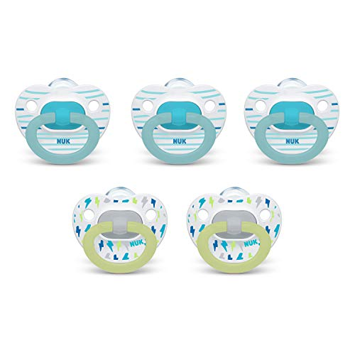 NUK Orthodontic Pacifiers 618 Months 5Pack