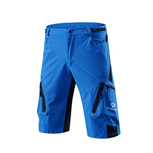 Scopri offerta per X-TIGER Pantaloncini da Montagna MTB Uomo e Donna, Pantaloncini Ciclismo Biciclette, Bici MTB Pantaloni Traspirante Shorts per Ciclismo da Corsa All'aperto