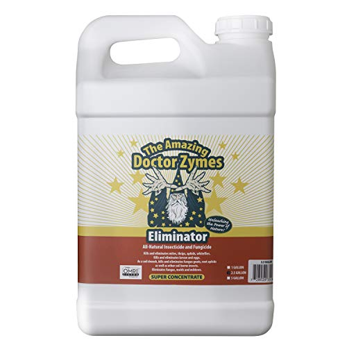 The Amazing Doctor Zymes DZE25G Eliminator Concentrate, 2.5 Gal, White