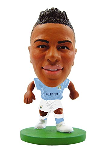 SoccerStarz SOC944 - Man City Raheem Sterling  - Heimtrikot,