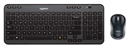 Logitech Wireless Combo MK360 – Includes Keyboard with 12 Programmable Keys and Wireless Mouse, Compact Package Perfect for Travel, 3-Year Battery Life