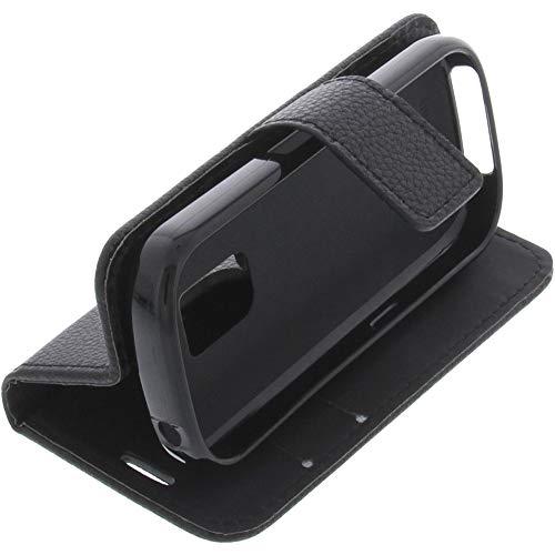 foto-kontor Tasche für Artfone GSM Book Style schwarz Schutz Hülle Buch