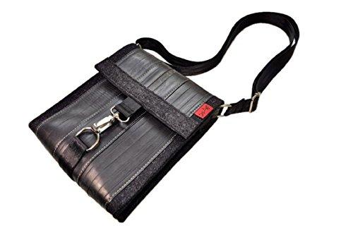 Stef Fauser Umhängetasche Bagginger-anthrazit 24x20x6cm Schultertasche Tasche