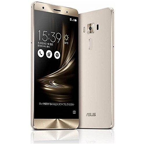 ASUS SIMフリースマートフォン ZenFone 3 Deluxe シルバー ZS570KL-SL256S6