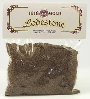 Sage Cauldron Lodestone Powder Incense 1618 Gold