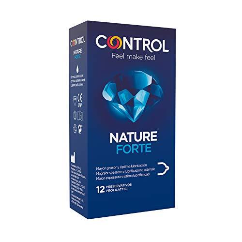 Kondom-Kontrolle Nature 1 Stark, 12 Stück