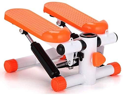 RTUHRJLXJ Indoorsport Und Fitness Stepper Heimfitness Sportgeräte (Color : Orange)