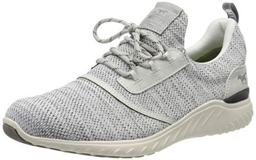 MUSTANG Herren 4132-301-100 Sneaker, Weiß (Off-White 100), 44 EU