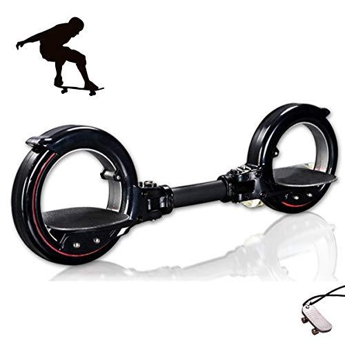 Grist CC Freerider Skatecycle Skateboard Scooter Skate-Zyklus für Anfänger Kinder und Erwachsene (Schwarz)