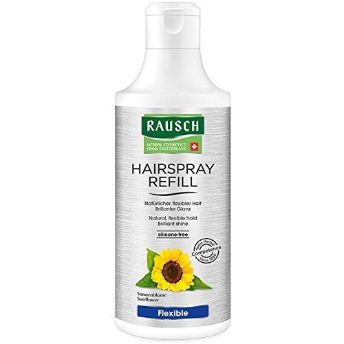 Rausch Hairspray Flexible Non-Aerosol Nachfüllflasche (ideal für ein lockeres Finish oder zur Fixierung einzelner Haarpartien), 1er Pack (1 x 400 ml)