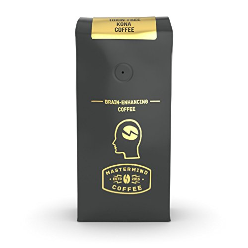 Kona Clarity - Brain Enhancing Nootropic Kona Coffee - Whole Bean Coffee - Heightens Mental Acuity, Improves Focus - Impossibly Delicious! (16 oz)