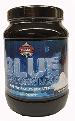 Pro Muscle Blue Explosion 2.0 750g Pre Workout Booster (Cola)