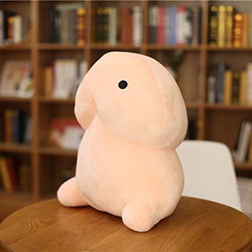 Cokil Plüsch Penis Spielzeug weich gefüllte Simulation Penis Weihnachtsgeschenk für Freundin Stoffspielzeug