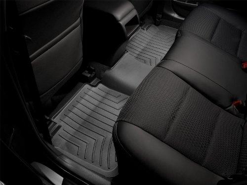 WeatherTech Custom Fit Rear FloorLiner for Chevrolet Camaro, Black