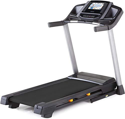 Laufband | Bluetooth Elektro Walkingmaschine 440 W Motor | Integrierte Lautsprecher | Einstellbare Geschwindigkeit | LCD-Display & Kalorienzähler