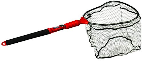 EGO S2 Slider Fishing Net, Ultimate Fishermen's Tool, Telescoping Handle, Replaceable Head, Salt & Freshwater, 2 Year Warranty, 18-36' Handle